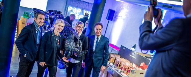 Foto: Presseevent im Pop-up-Store in Zürich
