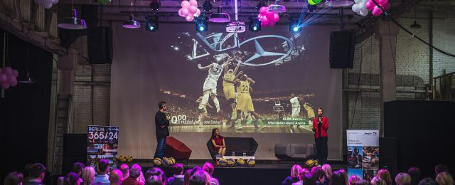 Berlin Event mit Alba-Berlin in Belgrad