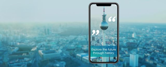Visual der ABOUT BERLIN-App