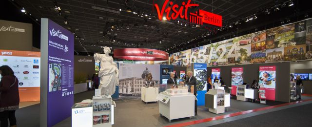 ITB 2018 visitBerlin Messestand