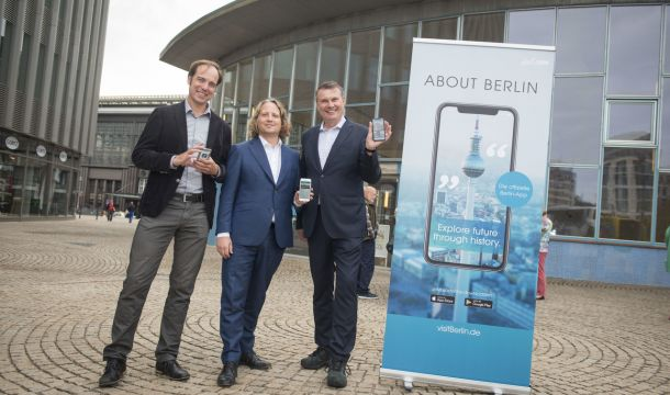 App-Launch ABOUT BERLIN