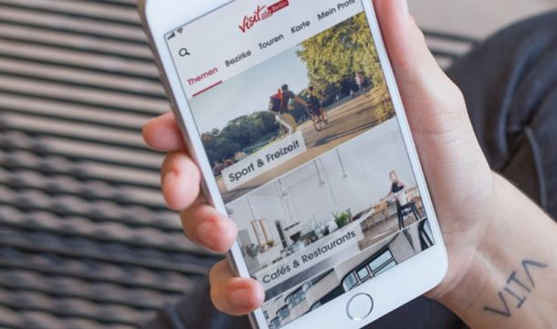 Neue App Going local Berlin