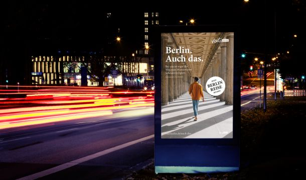City Light Poster Berlin. Auch das.