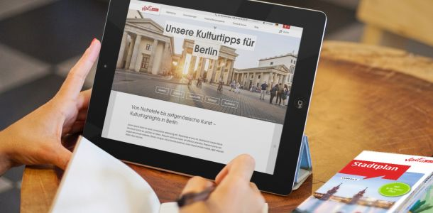 Tablet visitBerlin