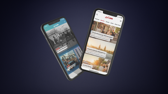 visitBerlin Apps ABOUT Berlin und Going Local